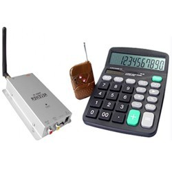 Calculator de birou cu camera wireless spy
