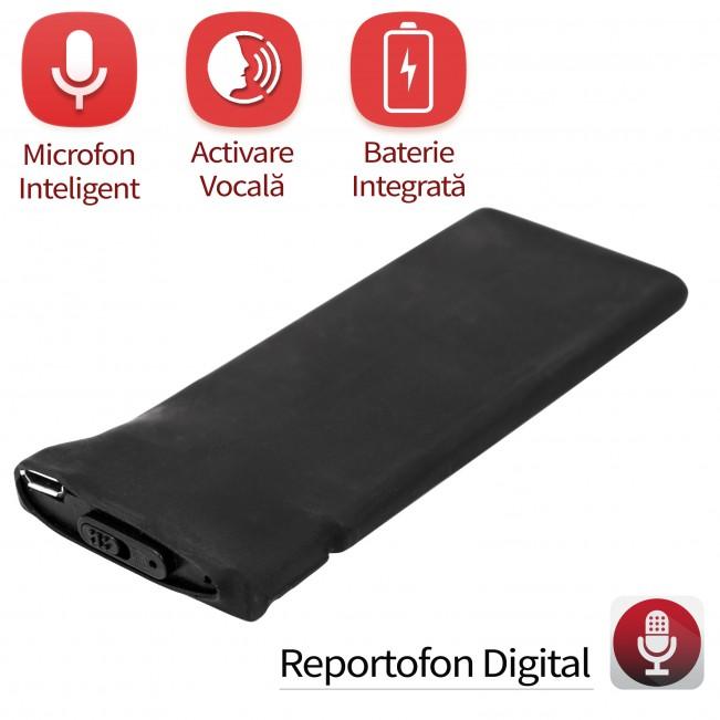 Modul Reportofon Spion BlackBox 90140RECVA - 148 de ore - autonomie 18 zile cu detectie voce