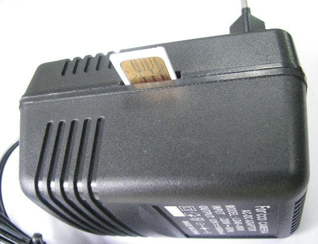 Alimentator universal cu microfon gsm spionaj