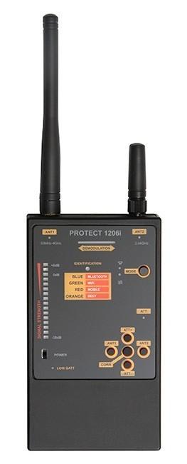Detector profesional de camere si microfoane Protect 1206i