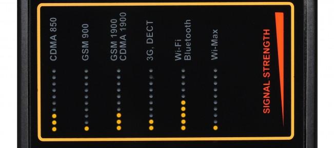 Protect 1207i - detector ultraprofesional de microfoane si camere ascunse