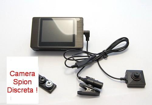 Cap surub cu mini camera spion integrata