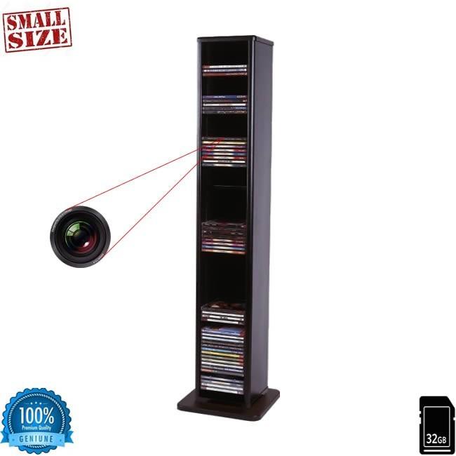 Carcasa Dvd cu mini modul camera spy wi-fi p2p, 720p