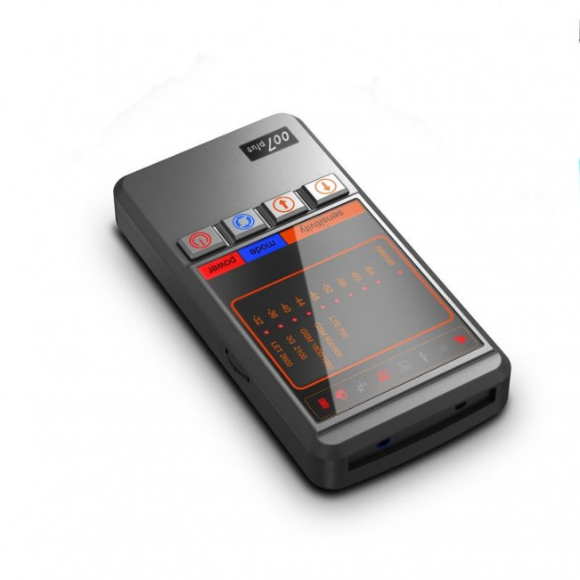Detector de camere si microfoane hibrid profesional - JAMHS-007 PLUS 5,2 GHz