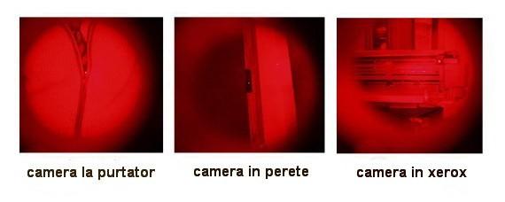 Detector lentile camere