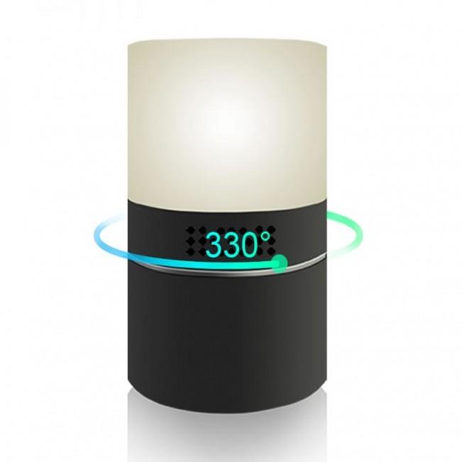 Camera Video Integrata in Lampa de Veghe, Rezolutie 1080P, Memorie 128GB, Activare la Miscare