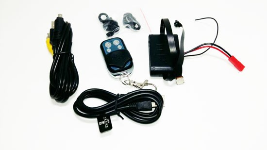 Modul mini camera pentru spionaj discret audio-video cu 2 lentile