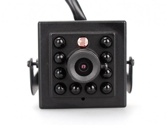 Camera spion ip, HD, 2Mp pentru supraveghere profesionala si night vision invizibil