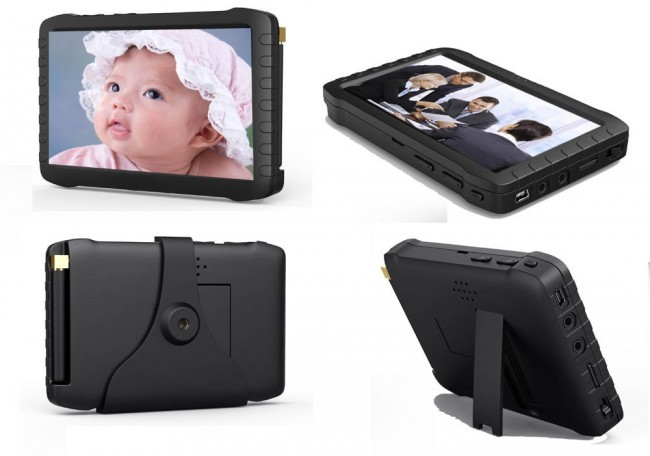 """Mini DVR portabil 5"""", senzor la miscare, 12 ore autonomie"""