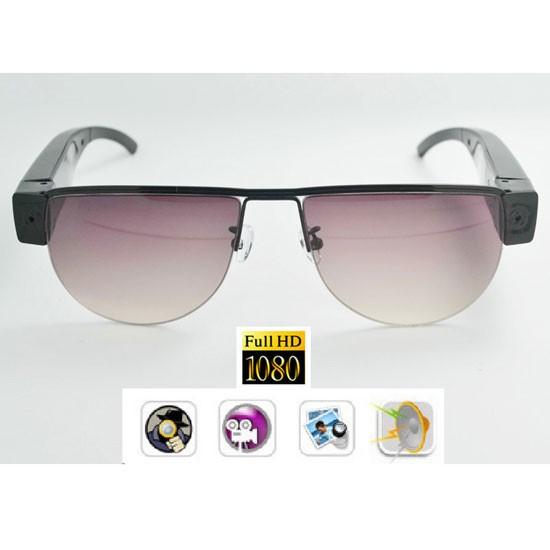 Ochelari de soare cu micro modul camera spy - 1280x720