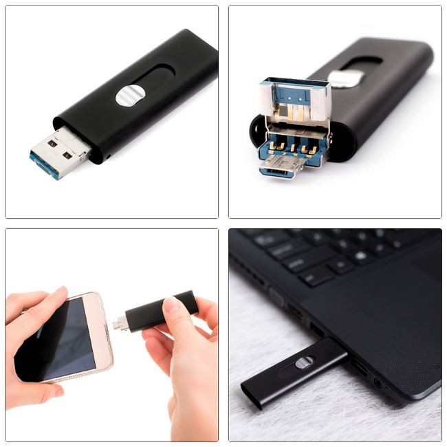 Reportofon spy cu activare vocala ascuns in stick usb Hawkel  8 Gb BSIMSVA089 007 - TOP