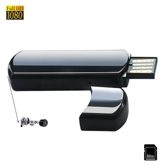 Camera Spionaj Mascata in Stick USB de Memorie