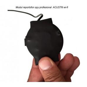 Reportofon hibrid model profesional pentru spionaj discret IP Wi-Fi P2P