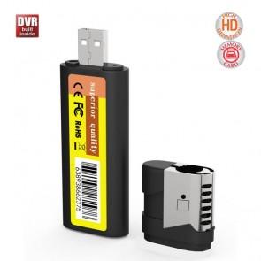 Bricheta Functionala camera spy  1080p , Memorie 32GB, Conectare Directa USB