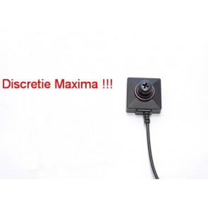 Microcamera Ip, incorporata in cap surub, solutie profesionala