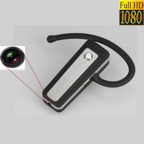 Casca Bluetooth cu minicamera spion integrata Full Hd