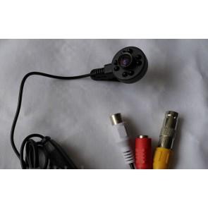 Mini camera video spy CCTV pentru supraveghere cu sunet