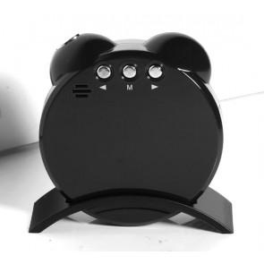 Camera spionaj cu senzor de miscare ascunsa in ceas de birou