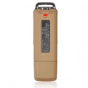 Stick USB de memorie cu reportofon spy incorporat, discret, memorie 8Gb