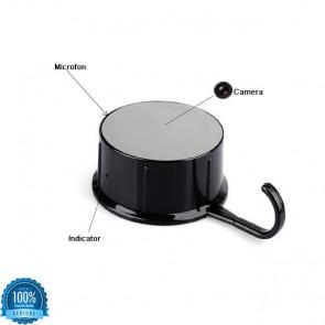 Cuier camera video ascunsa cu senzor de miscare