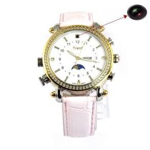 Camera spionaj in ceas de dama elegant, memorie 4Gb