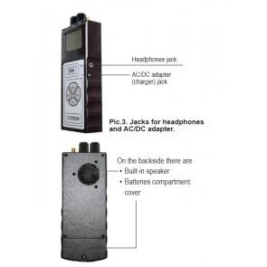 Detector ultraprofesional de camere si microfoane mascate produs in Rusia