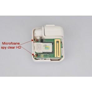 Microfon mic spion prin GSM mascat in incarcator de telefon cu activare voce