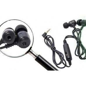 Casti audio cu microcamera spy profesionala