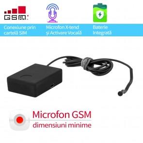 Microfon GSM spy profesional cu sunet ultraclear si activare vocala X-tend EAR1