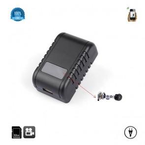Camera Video Mascata in Incarcator Wi-Fi Ip cu Filmare pe Timp de Noapte, Full Hd, Senzor de Miscare