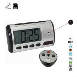 Ceas de Birou cu Minicamera Video Spy, Detector de Miscare